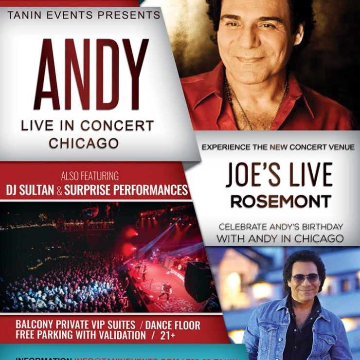 Andy Live in Concert Chicago